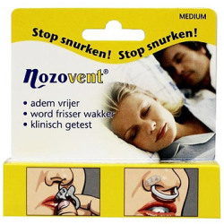 Nozovent Stop Snurker Medium