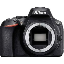 Nikon D5600 Digitale spiegelreflexcamera 24.2 Mpix Zwart WiFi Full HD video opname