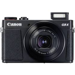 Digitale camera Canon G9 X Mark II 20.9 Mpix Zwart Full HD video opname GPS Bluetooth