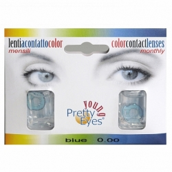 Pretty Eyes Daglens Color Blauw