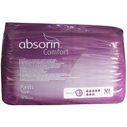 Absorin Comfort Pants Super Xl Tot 165 Cm