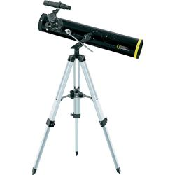 National Geographic 76 700 mm AZ Spiegeltelescoop Azimutaal Achromatisch Vergroting 35 tot 525 x