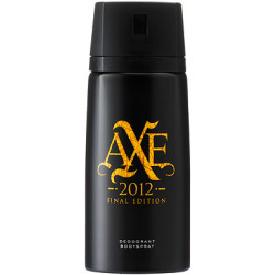Axe Deodorant Spray 2012 Final Edition