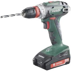 Metabo BS 18 Quick Accuschroefboormachine 18 V 2 Ah Li ion Incl. 2 accus Incl. koffer