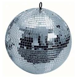Mirrorball 30 cm 30 cm Mirrorball without motor Showtec
