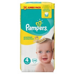 Pampers Premium Protection Nappies â Size 4 Maxi