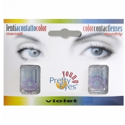 Pretty Eyes Daglens Color Violet