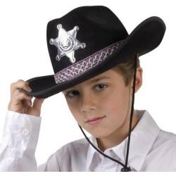 Kinderhoed Sheriff Junior Zwart