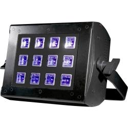 UV floodlight ADJ UV FLOOD 36 LED 36 W Zwart