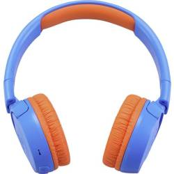 JBL JR 300 BT Bluetooth Kinder On Ear koptelefoon Blauw