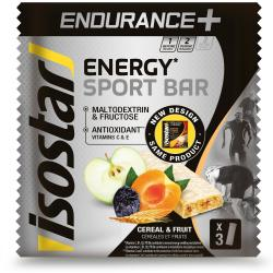 energiereep energy sport bar endurance granen en fruit 3x40 g isostar
