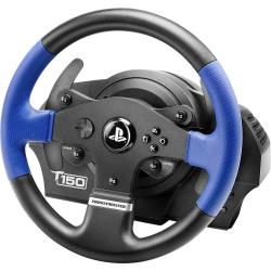 Thrustmaster T150 RS Force Feedback Stuur USB 2.0 PlayStation 3 PlayStation 4 PC Zwart blauw Incl. pedaal