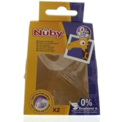 Nuby Replacement Nipple Sl Flo