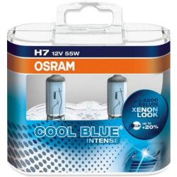 Osram Auto Halogeenlamp Cool Blue Intense H7 55 W