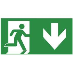 Noodverlichting Pictogram sticker Van lien