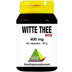 Witte Thee 400 Mg Puur Capsules