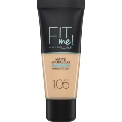 Maybelline Fit Me Matte Poreless Foundation 105 Natural Ivory