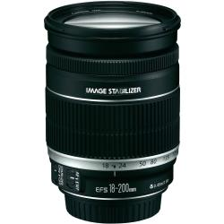 Canon EF S Standaard lens f 3.5 5.6 18 200 mm