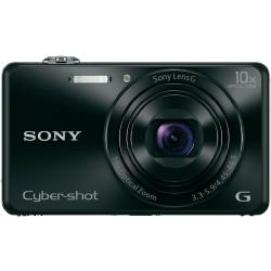 Sony Cyber Shot DSC WX220B Digitale camera 18.2 Mpix Zoom optisch 10 x Zwart Full HD video opname WiFi