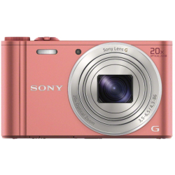 Sony Cyber Shot DSC WX350P Digitale camera 18.2 Mpix Zoom optisch 20 x Roze Full HD video opname WiFi
