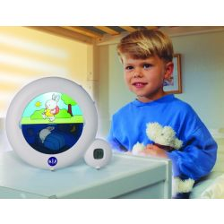 Kidsleep Classic Wit LED Kinderwekker