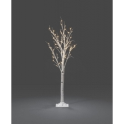 LED berk lichtboom wit 150cm