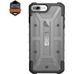 uag Plasma iPhone Outdoorcase Geschikt voor Apple iPhone 6S Plus Apple iPhone 7 Plus Apple iPhone 8 Plus Grijs Transparant