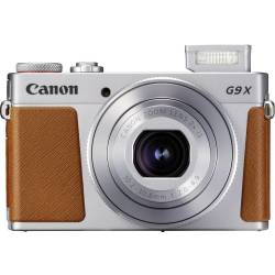 Digitale camera Canon G9 X Mark II 20.9 Mpix Zilver Full HD video opname GPS Bluetooth