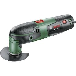 Bosch Home and Garden PMF 220 CE 0603102000 Multifunctioneel gereedschap Incl. accessoires Incl. koffer 12 delig 220 W